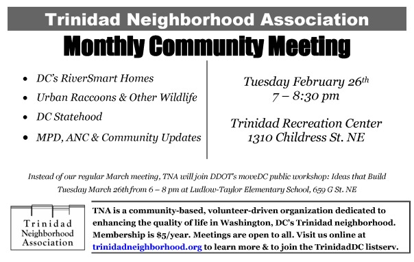 TNA Feb 2013 meeting notice