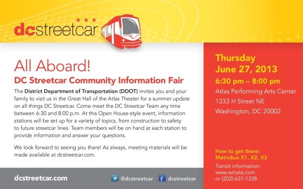 DC Streetcar Mtg 6.27.13