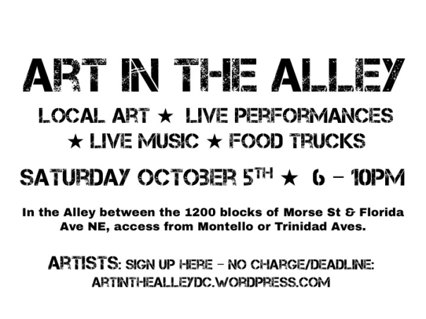 Art in the Alley_Oct. 5 2013