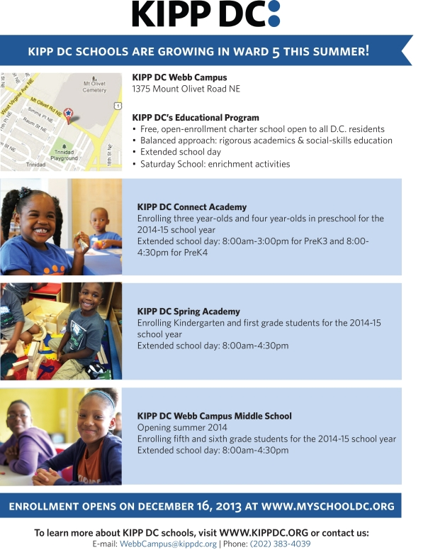 KIPP Summer 2014 Enrollment Flyer