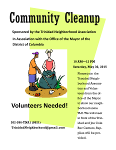 may clean up flyer