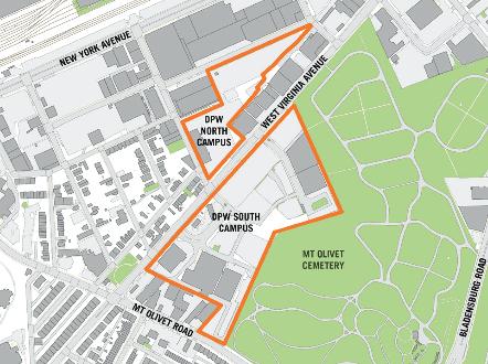 Olivet Campus Map.West Virginia Ave Public Works Campus Master Plan Public Open House